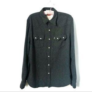 LEVI'S   Wool Blend Shirt
